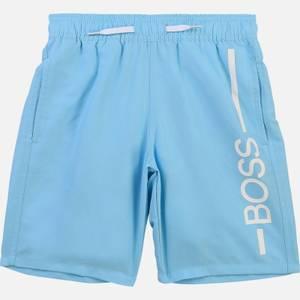 Hugo Boss Boys' Swim Shorts - Sea Green