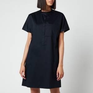 A.P.C. Women's Temple Shirt Dress - Navy