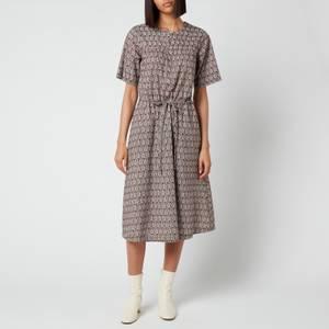 A.P.C. Women's Elie Paisely Dress - Noisette