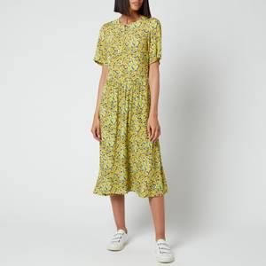 A.P.C. Women's Jayla Dress - Yellow