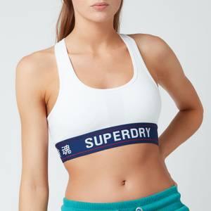 Superdry Women's Sportstyle Essential Crop Bra - Optic