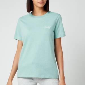 Superdry Women's Orange Label Classic T-Shirt - Sage Marl
