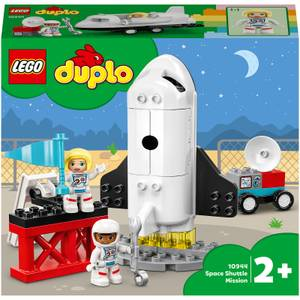 LEGO DUPLO Town: Space Shuttle Mission Rocket Toy (10944)