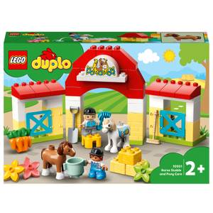 LEGO DUPLO Town: Horse Stable and Pony Care Toddler Toy (10951)