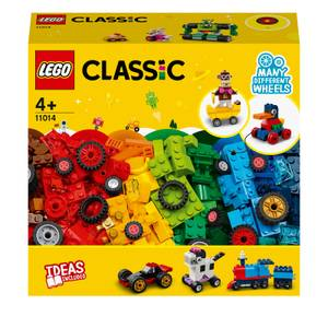 LEGO Classic: Bricks and Wheels Starter Building Set (11014)