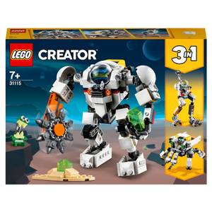 LEGO Creator: 3 in 1 Space Mining Mech Toy (31115)