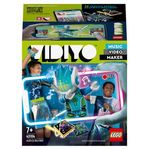 LEGO VIDIYO Alien DJ BeatBox Music Video Maker Toy (43104)