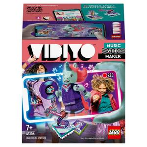 LEGO VIDIYO Unicorn DJ BeatBox Music Video Maker Toy (43106)