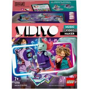 LEGO VIDIYO Unicorn DJ BeatBox Music Video Maker Toy (43106)
