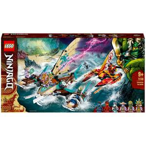 LEGO NINJAGO: Catamaran Sea Battle Building Set (71748)