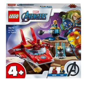LEGO Marvel Avengers Iron Man vs. Thanos Toddler Toy (76170)