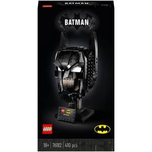 LEGO DC Batman: Batman Cowl Mask Adult Building Set (76182)