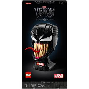 LEGO Marvel Spider-Man Venom Mask Adult Set (76187)