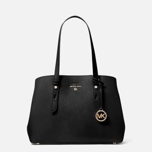 MICHAEL Michael Kors Women's Mel Medium Tote Bag - Black
