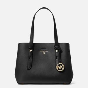 MICHAEL Michael Kors Women's Mel Small Tote Bag - Black