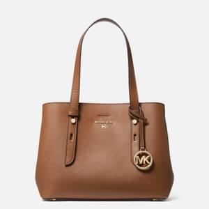 MICHAEL Michael Kors Women's Mel Small Tote Bag - Luggage