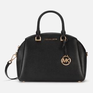 MICHAEL MICHAEL KORS Women's Maxine Medium Dome Satchel - Black
