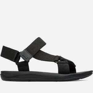 Camper Men's Webbing Sandals - Black