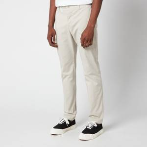YMC Men's Deja Vu Garment Dye Twill Trousers - Stone
