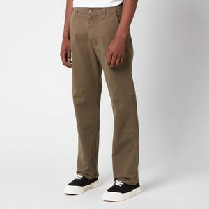 YMC Men's Padre Garment Dye Twill Trousers - Olive