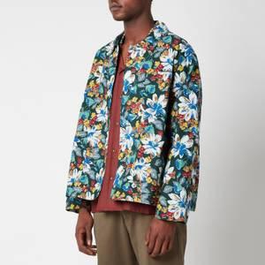 YMC Men's Labour Organic Ripstop Flower Print Jacket - Multi