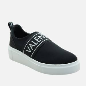 Valentino Shoes Women's Slip-On Trainers - Black