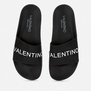 Valentino Shoes Men's Slide Sandals - Black