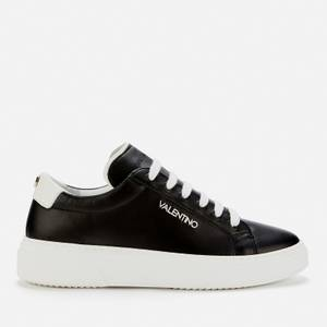 Valentino Shoes Men's Leather Chunky Trainers - Black