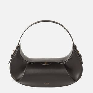 Yuzefi Women's Fortune Cookie Leather Bag - Black