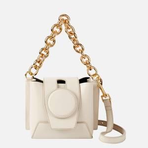Yuzefi Women's Daria Leather Bag - Oatmeal