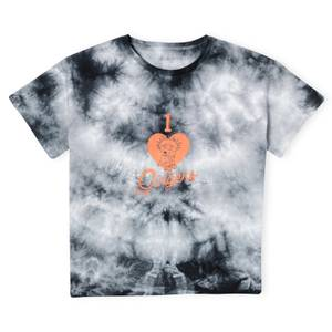 Les Razmokets I Love Gingers Femme Cropped Top - Noir Tie Dye