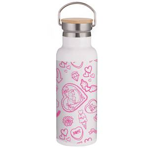 Rugrats Thermo Flask Portable Insulated Water Bottle - Steel