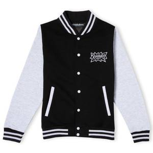 Rugrats Unisex Varsity Jacket- Black/Grey