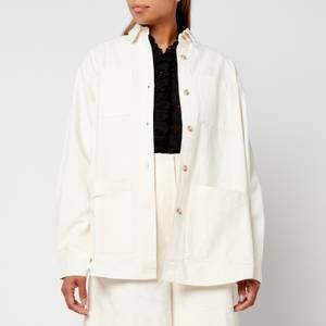Skall Studio Women's Jenny Heavy Cotton Shirt - Vanilla
