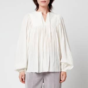 Skall Studio Women's Nadja Cotton Gauze Blouse - Off White