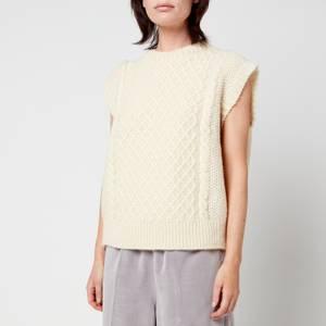 Skall Studio Women's Oda Wool Vest - Off-White