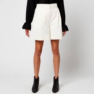 Skall Studio Women's Jenny Heavy Cotton Shorts - White