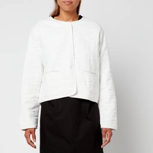 Skall Studio Women's Emma Cotton Gauze Jacket - Off-White