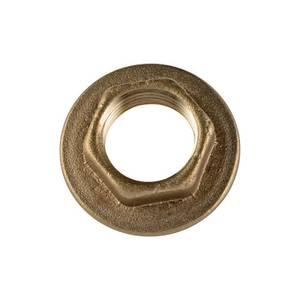 Brass Back Nut - 13mm