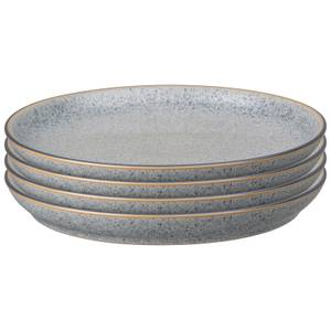 Denby Studio Grey Coupe Dinner Plate Set (Set of 4)