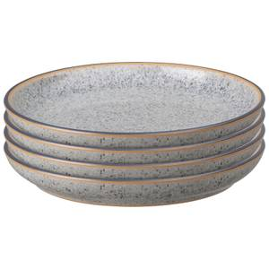 Denby Studio Grey Small Coupe Plate Set (Set of 4)