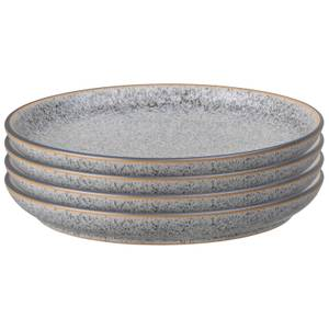 Denby Studio Grey Medium Coupe Plate (Set of 4)