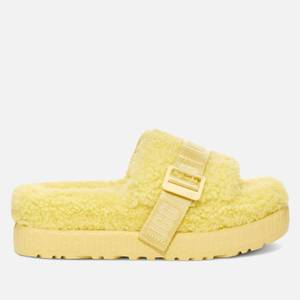 UGG Women's Fluffita Sheepskin Slide Sandals - Margarita