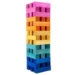 Sunnylife Mega Rainbow Jumbling Tower