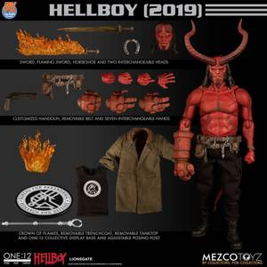 Mezco One:12 Collective Hellboy (2019) Hellboy Action Figure - PX Exclusive (Anung Un Rama Edition)