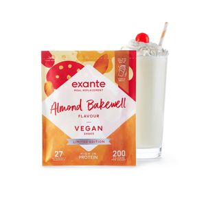 Vegan Meal Replacement Box of 7 Almond Bakewell Flavour Shake