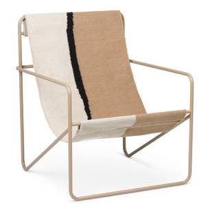 Ferm Living Desert Lounge Chair - Cashmere/Soil