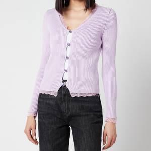 Olivia Rubin Women's Tansy Cardigan - Lilac