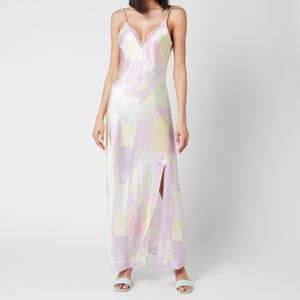 Olivia Rubin Women's Veronica Slip Dress - Light Patchwork