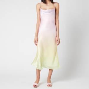 Olivia Rubin Women's Aubrey Midi Dress - Pastel Ombre